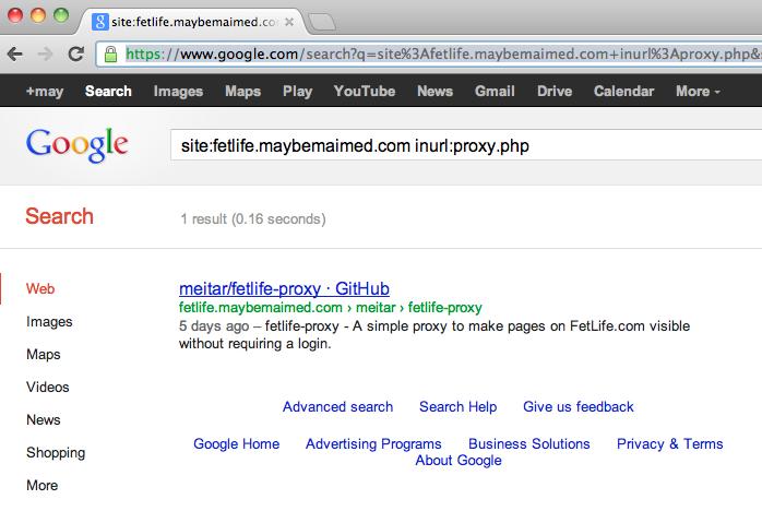 Fetlife advanced search